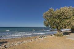 Uma da praia na Creta Imagens de Stock