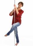 Uma dança do indivíduo Imagem de Stock Royalty Free
