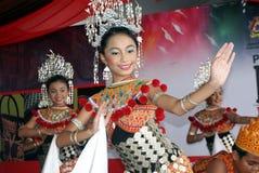 Uma dança iban fotos de stock royalty free
