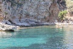 Uma das baías bonitas de Marmaris perto de Turunc em Marmaris, fotos de stock royalty free