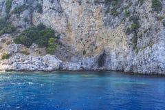 Uma das baías bonitas de Marmaris perto de Turunc em Marmaris fotos de stock royalty free