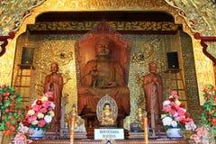 Uma das Budas, Buda de Vairochana Fotos de Stock