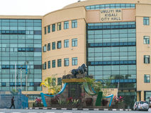 Uma das cidades as mais limpas em África, Kigali Fotos de Stock Royalty Free