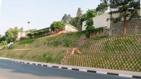 Uma das cidades as mais limpas em África, Kigali Foto de Stock Royalty Free