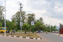 Uma das cidades as mais limpas em África, Kigali Fotos de Stock