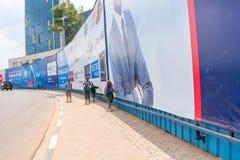 Uma das cidades as mais limpas em África, Kigali Imagens de Stock Royalty Free