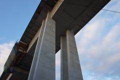 """Uma das pontes de Praga, a saber, Nuselsky, tem sido por muito tempo doente-famosa Os povos chamaram-no o """"bridge do  do suici imagem de stock"""