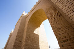 Uma das portas de Babylon Foto de Stock Royalty Free