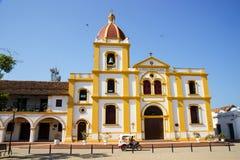 Uma de igrejas famosas de Mompos Fotos de Stock