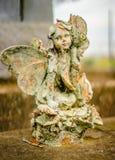 Uma decoração grave ou uma estátua grave foto de stock