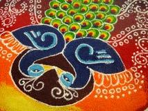 Uma decoração indiana imagem de stock royalty free