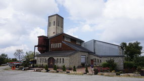 Uma destilaria do país Imagem de Stock