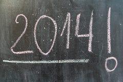 Uma disposição do ano novo 2014 Imagem de Stock