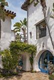 Uma entrada brilhante em Santa Barbara fotografia de stock