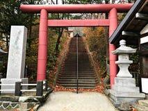 Uma entrada japonesa do santuário Foto de Stock Royalty Free