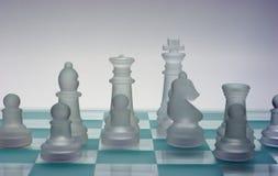 Uma equipe da xadrez Foto de Stock Royalty Free