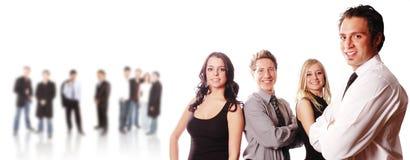 Uma equipe do negócio Fotografia de Stock