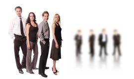 Uma equipe do negócio Foto de Stock Royalty Free