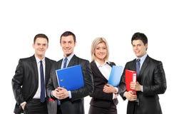 Uma equipe dos empresários Foto de Stock Royalty Free