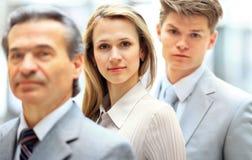 Uma equipe profissional do negócio Fotografia de Stock Royalty Free