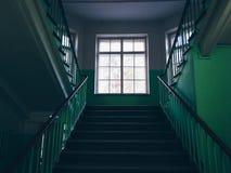 Uma escada imagens de stock royalty free