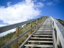 Uma escada para o céu fotos de stock royalty free