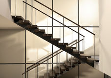 Uma escadaria Imagem de Stock Royalty Free