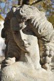 Uma escultura de pedra Imagens de Stock Royalty Free