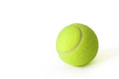 Uma esfera de tênis verde Fotografia de Stock Royalty Free