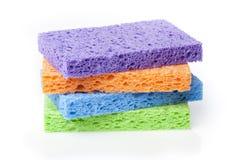 Uma esponja colorida Foto de Stock Royalty Free