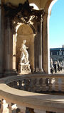 Uma estátua da galeria fotográfica dos antigos mestres em Dresden, Alemanha Imagens de Stock