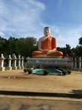 Uma estátua de Buddha Fotos de Stock Royalty Free