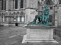 Uma estátua de Constantim o grande Imagens de Stock Royalty Free