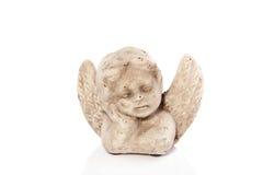 Uma estátua de um anjo Fotografia de Stock
