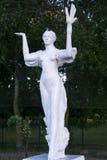 Uma estátua de uma menina Imagem de Stock Royalty Free