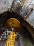 Uma estátua do atAngkor hindu Wat de Vishnu do deus, Camboja Fotografia de Stock Royalty Free