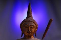 Uma estátua do budha Fotografia de Stock