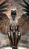 Uma estátua do grifo na exposição de Harry Potter em Londres Reino Unido fotografia de stock royalty free