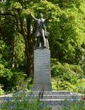 Uma estátua do regulador General Stanley que dedicasse o parque Imagem de Stock Royalty Free