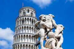 Uma estátua em Pisa Imagens de Stock