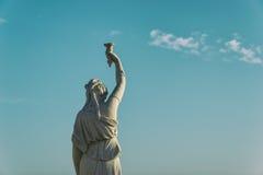 Uma estátua em Portugal Fotos de Stock Royalty Free