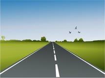 Uma estrada Imagens de Stock
