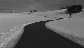 Uma estrada bávara Foto de Stock
