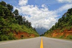 Uma estrada bonita Fotos de Stock