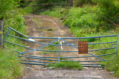 Uma estrada confidencial Imagens de Stock Royalty Free