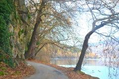 Uma estrada da maneira Fotografia de Stock