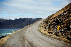 Uma estrada da montagem Fotos de Stock Royalty Free