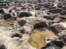 Uma estrada da pedra Imagens de Stock Royalty Free