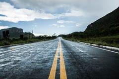Uma estrada a em algum lugar Foto de Stock