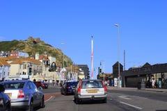 259 uma estrada Hastings Reino Unido Foto de Stock Royalty Free
